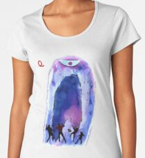 Jonny Quest Invisible Monster 2nd version Women's Premium T-Shirt