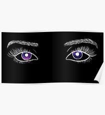 Galaxy Eyes Poster