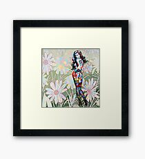 Don't Touch My Petals Framed Print