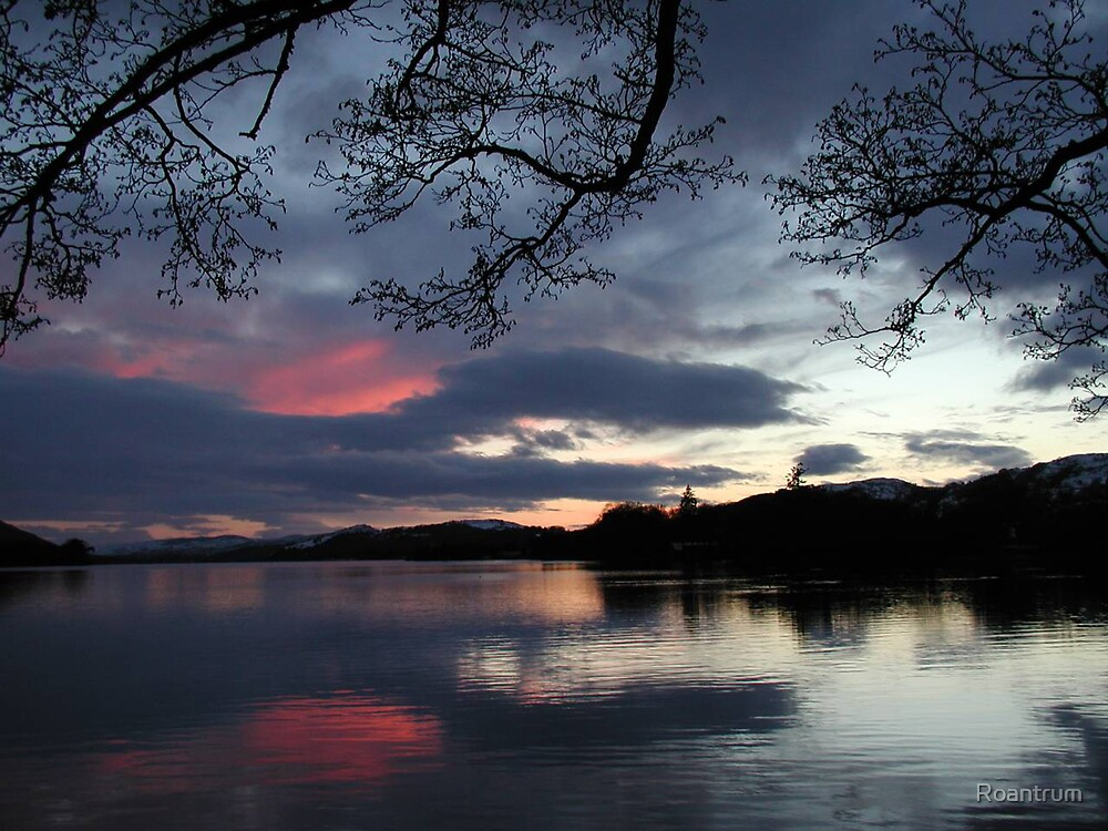 Evening at Coniston Water by Roantrum