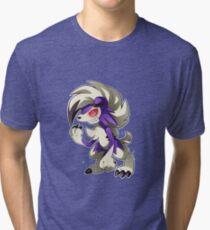 Shiny Midnight Pupper Tri-blend T-Shirt