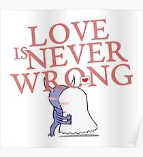 Love is never wrong Poster