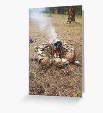 Pabst Fire Greeting Card