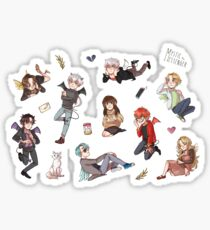 Cute Mystic Messenger Pack Sticker