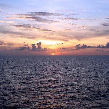 Caribbean Sunset by JMBaker79