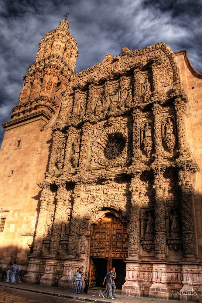 zacatecas cathedral by tuetano