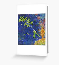 Parroted Prince painting - 2014 Greeting Card