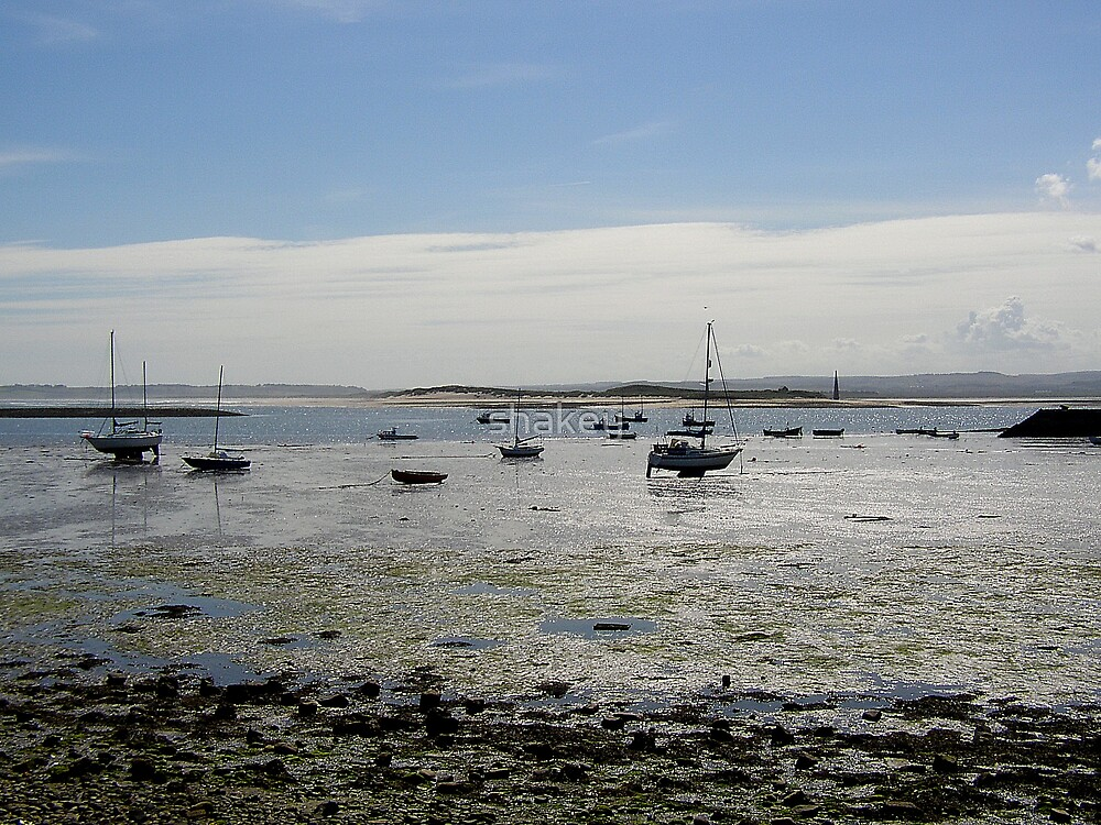 Holy Island Harbour by shakey