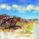 Antietam Under Blue Skies  by Lois  Bryan