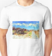 Antietam Under Blue Skies  Unisex T-Shirt