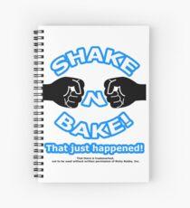 Ricky Bobby Spiral Notebooks   Redbubble