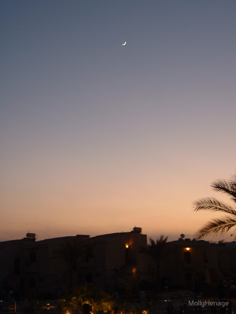 nighttime in Egypt by MollyHenage
