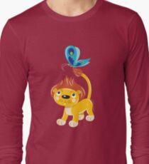 Leo and Butterfly dark tee Long Sleeve T-Shirt