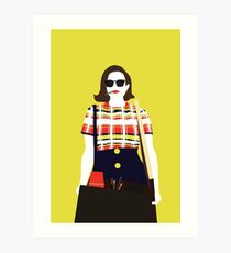 Peggy Olson Mad Men Art Print