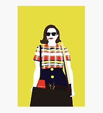 Peggy Olson Mad Men Fotodruck