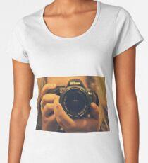 NIKON Photographer Women's Premium T-Shirt