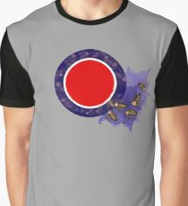 Cockroach Crawl Roundel  Graphic T-Shirt
