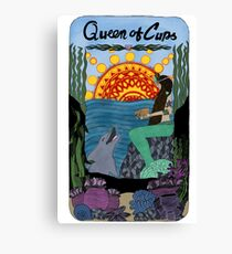 Queen of Cups Canvas Print