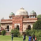 Humayun's Tomb, Delhi, India by Barbara  Brown