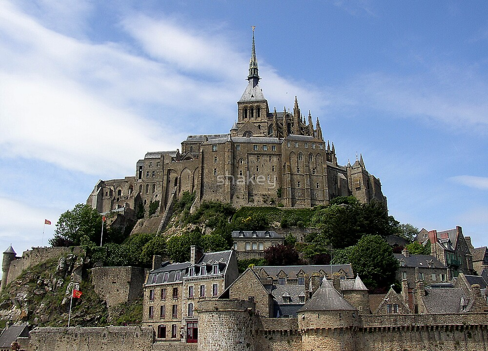 Mont ST. Michael by shakey