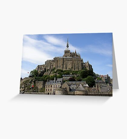 Mont ST. Michael Greeting Card