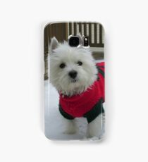 Winnie in the Snow Samsung Galaxy Case/Skin