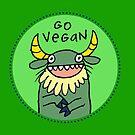 Go Vegan by fishcakes