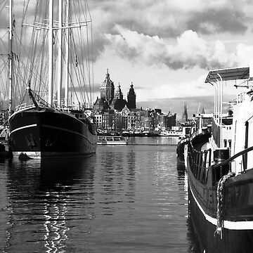 Amsterdam Harbour by stey2008