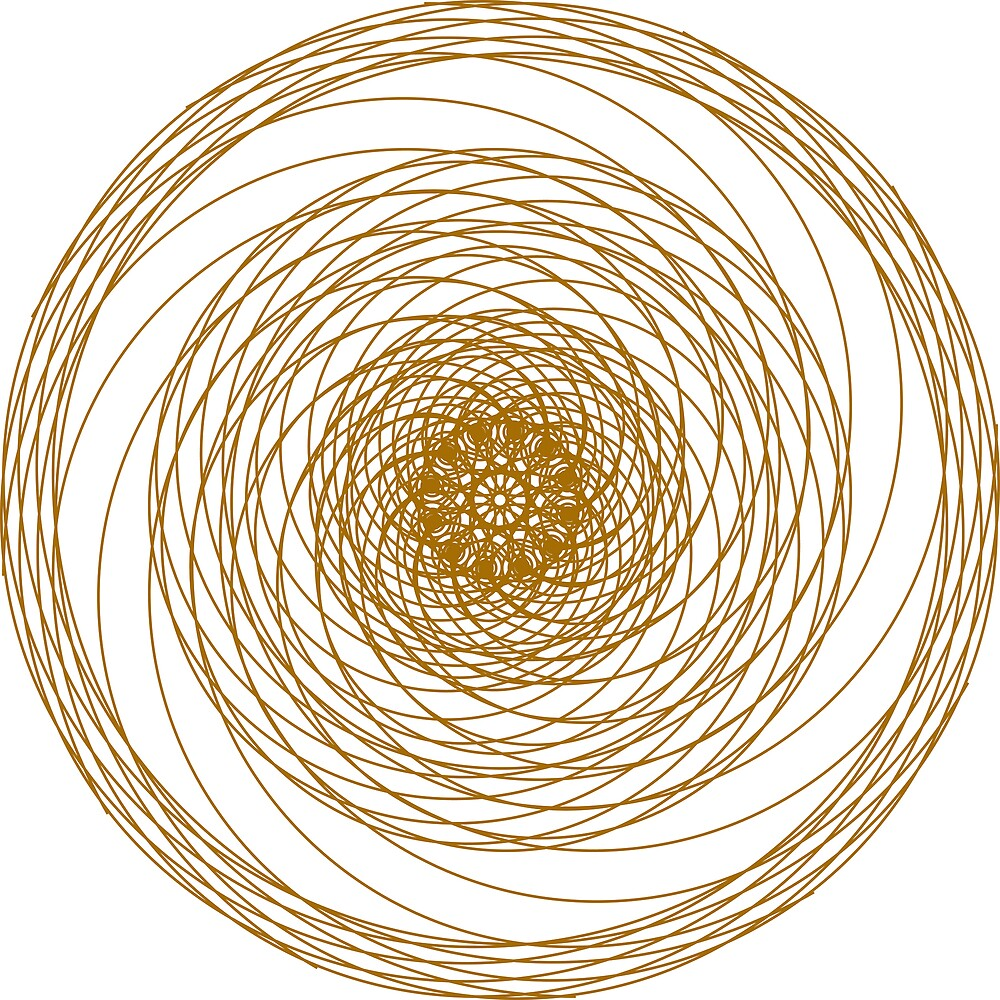 Spirals on Spirals by John Reid