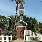 LITTLE OLD HAWAIIAN CHURCH by Claire Moreau