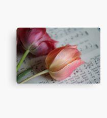 Amazing Grace Tulips Canvas Print