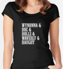 Awesome Wynonna Earp Logo Women's Fitted Scoop T-Shirt