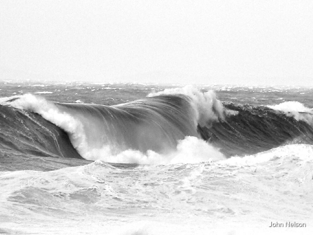 Stormy Seas by John Nelson