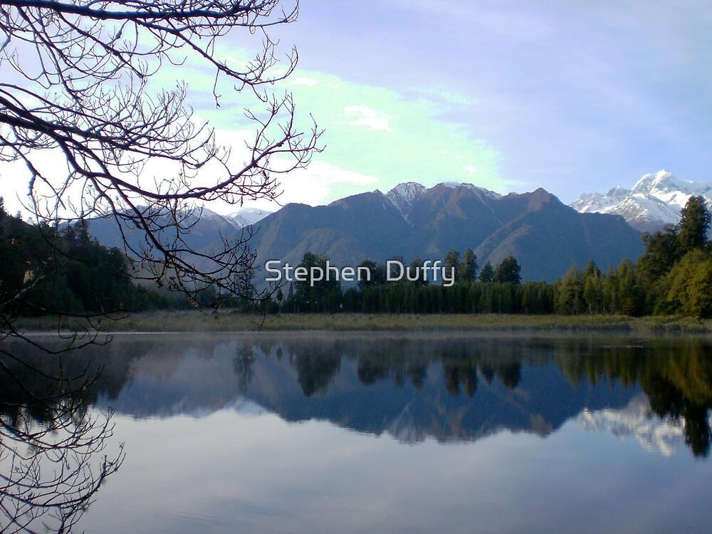 Lake Matherson New Zealand by Stephen  Duffy