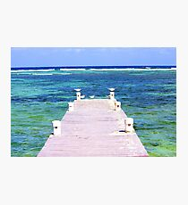 Color On The Sea Photographic Print