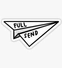 FULL SEND Sticker