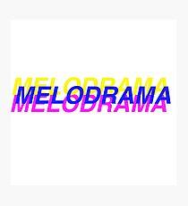 Lorde Melodrama Photographic Print