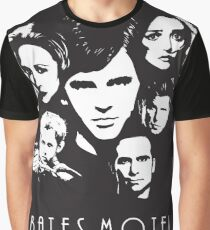 Bates Motel - Cast Graphic T-Shirt