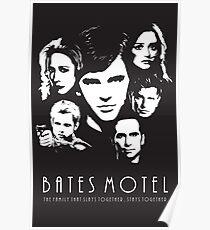 Bates Motel - Cast Poster