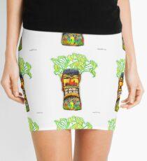Medicine Man Tiki ... ti4 Mini Skirt