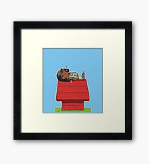snoop doggy dogg Framed Print