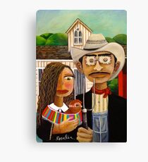 The New American Gothic Canvas Print