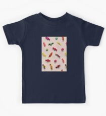 Sweet Candy Painted Pattern Kids Clothes