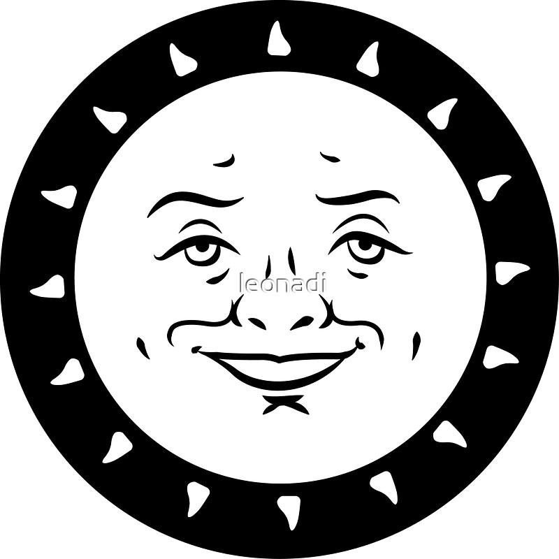 Quot Ouija Board Sun Quot Stickers By Leonadi Redbubble