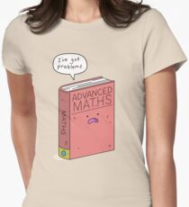 Maths Problems Womens Fitted T-Shirt