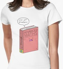 Maths Problems Women's Fitted T-Shirt