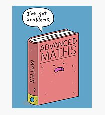 Maths Problems Photographic Print
