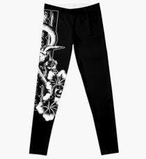 Onu - Design polynésien de tortue Leggings