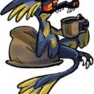 Coffee Microraptor by Fable