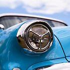 Sky blue, sunshine and chrome by Norman Repacholi